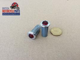 99-0568 Warning Light - Red Jewel - 38189 - 54363454