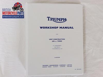 99-0883/0889 Workshop Manual Triumph 650 1963-70