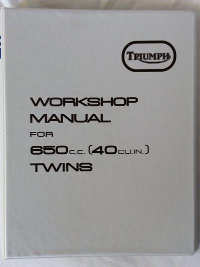 99-0947 Workshop Manual - Triumph TR6 T120 - 1971-74