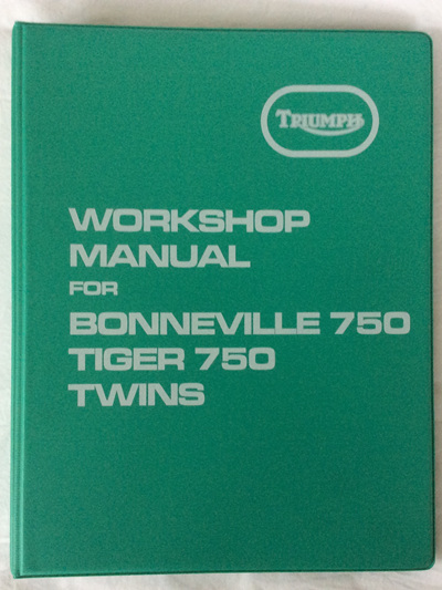 99-0983 Workshop Manual T140 TR7 1973-78