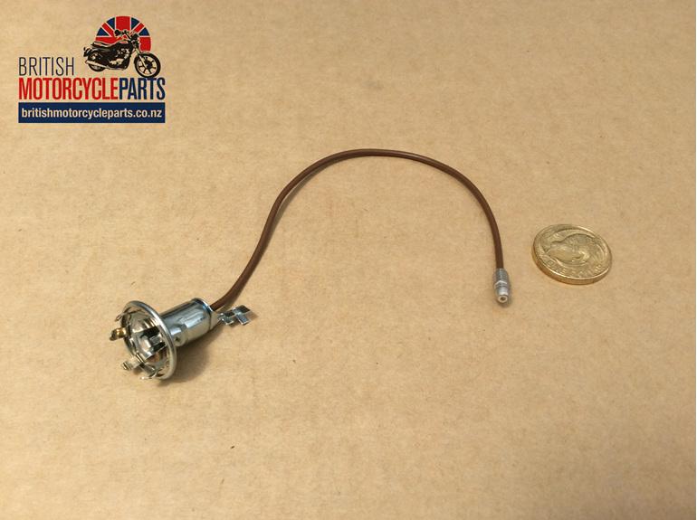 99-1213 Bulb Holder - Speedo Tacho Pilot - Metal Type - British Motorcycle Parts