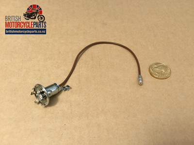 99-1213 Bulb Holder - Speedo Tacho Pilot - Metal Type