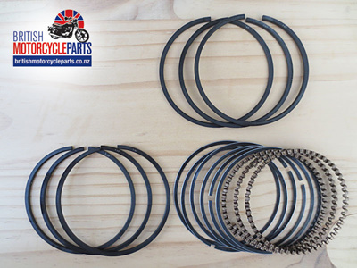 "99-3783/040 Piston Ring Set - +0.040"" - A75 T150 T160"