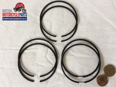 "99-3792 Piston Ring Set 0.060"" - T140 TR7"