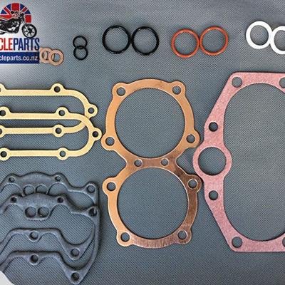 99-7001C T140 TR7 Top End Gasket Set - Copper