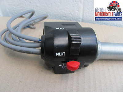 99-7048 Triumph T140E RH Handlebar Switch Assembly