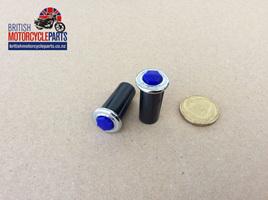 99-7054 Warning Light - Blue Jewel - 54361250