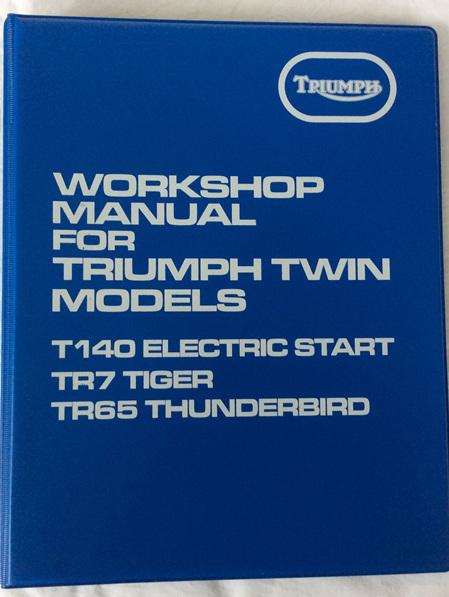 99-7059 Workshop Manual T140ES TR7 TR65 1982