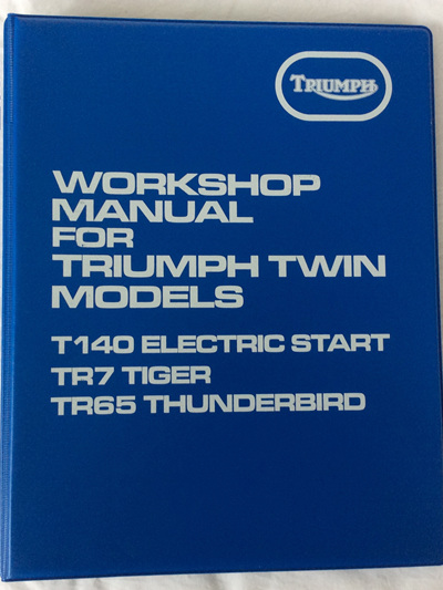 99-7059 Workshop Manual T140ES TR7 TR65 1982