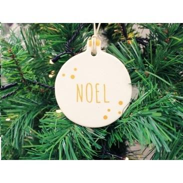 9cm Hilda Hanging Noel Deco