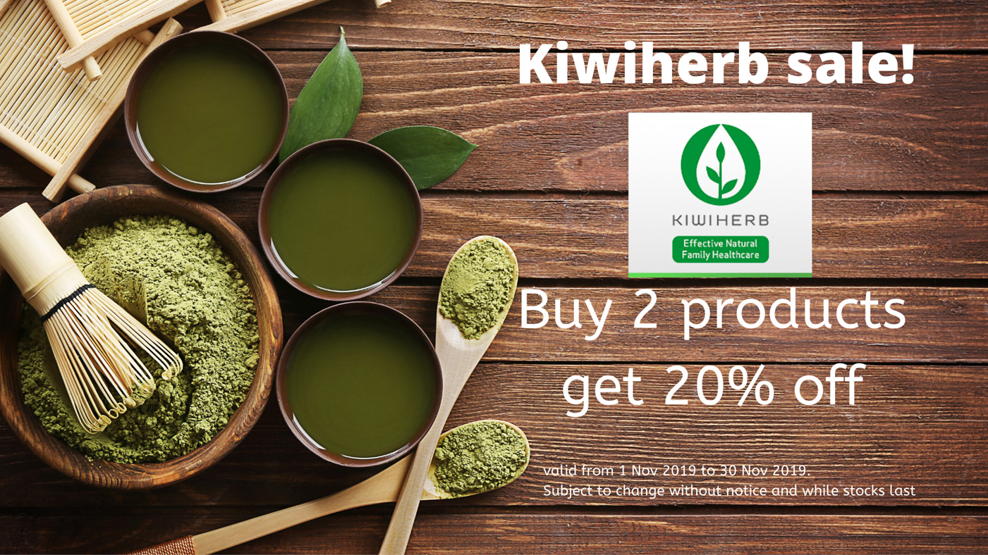 Massive Kiwiherb 20% off sale