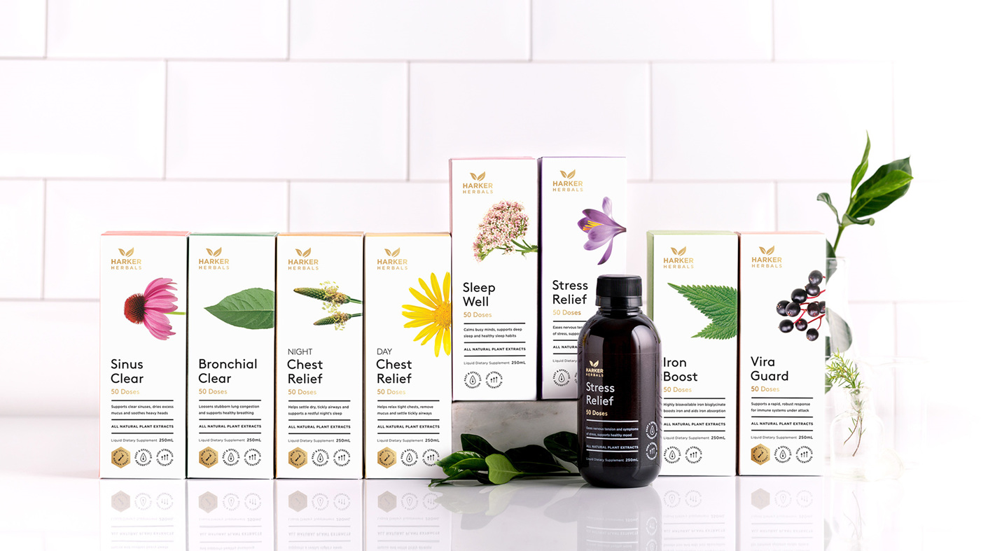 Check out the excellent Harker Herbal range