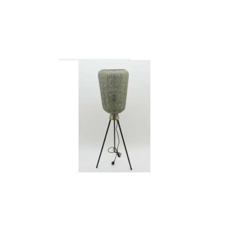 Aabida Pressed Metal Floor Lamp - White Wash - 33x121.5cmh