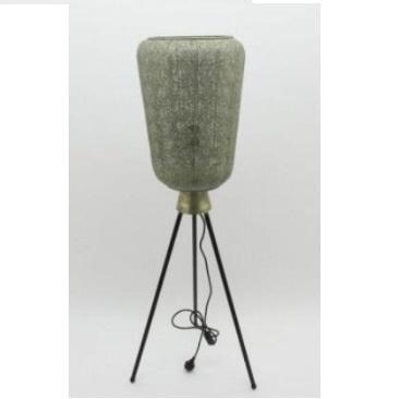 Aabida Pressed Metal Floor Lamp - White Wash - 33x121.5cmh