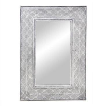 Aabida Pressed Metal Mirror 70x105cmh