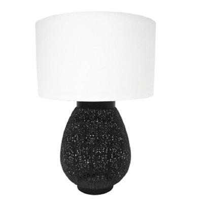 Aadila Metal Table Lamp - Matt Black