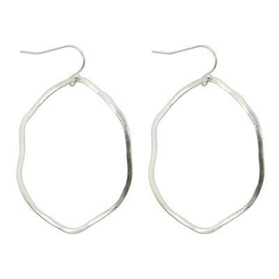 Abella Earrings - Silver