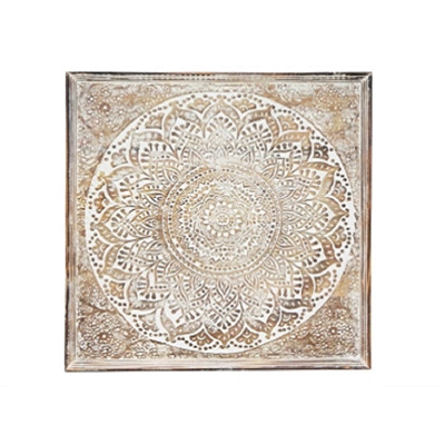 Abella Wooden Carved Wall Panel