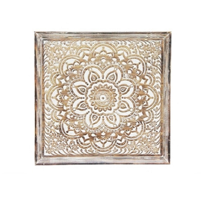 Abeque Wooden Carved Wall Panel