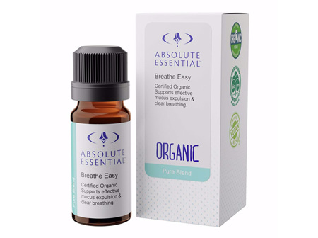 Absolute Essential Breathe Easy (Organic) 10ml