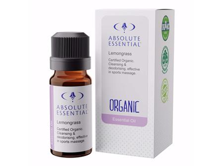 Absolute Essential Lemongrass (Organic) 10ml