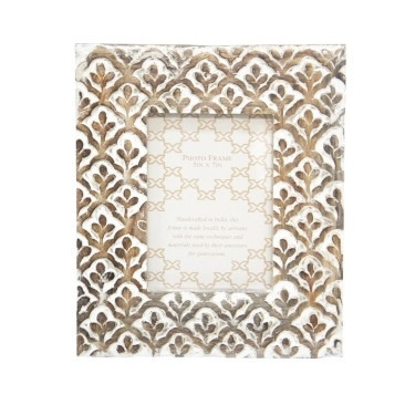 Acca Wooden Carved Photo Frame - 5x7