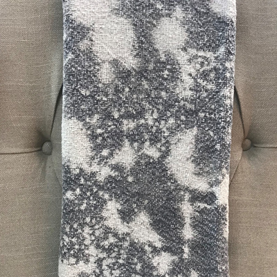 Acid Wash Throw - Grey