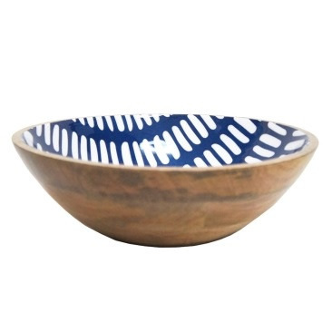 Adahy Wooden Bowl W Decal - 30cm