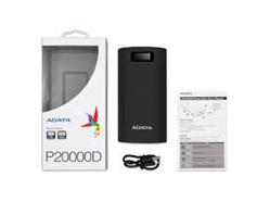 ADATA POWERBANK P20000D LCD 20000MAH