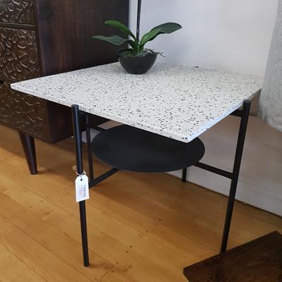 Adelina Terrazzo Side Table 61x51cmh