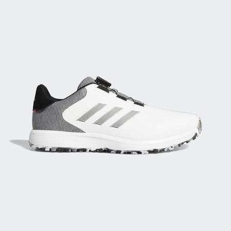 Adidas S2G Spikeless Golf Shoe - White FW6312
