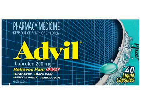 Advil 40 Liquid Capsules