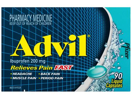 Advil 90 Liquid Capsules