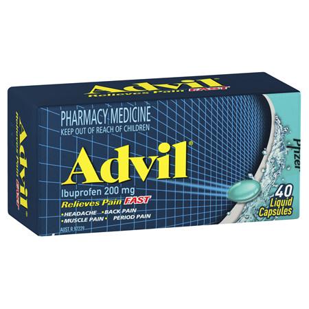 ADVIL Liquid Cap 40s