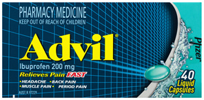 Advil Liquid Capsules 40 Pack