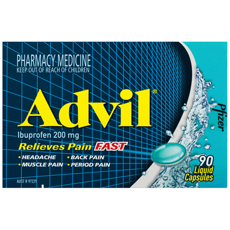 Advil Liquid Capsules 90 Pack