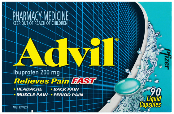 Advil Liquid Capsules 90 Pack