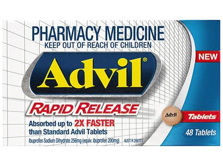 Advil Rapid Release 48 Tablets