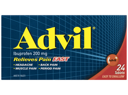 Advil Tablets 24 Pack