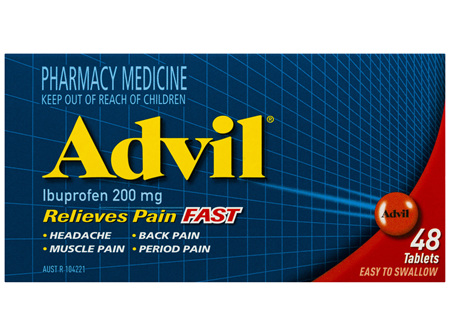 Advil Tablets 48 Pack