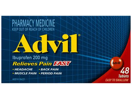 Advil Tablets 48 Pack
