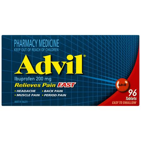Advil Tablets 96 Pack