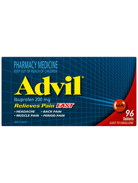 Advil Tablets 96 Pack