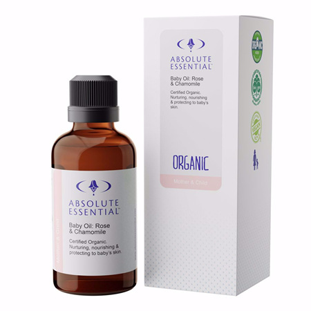 AEL Baby Oil Rose & Chamomile 50ml