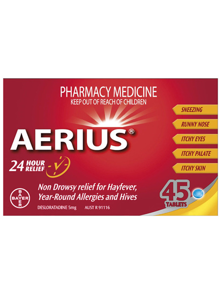 Aerius 45 Tablets