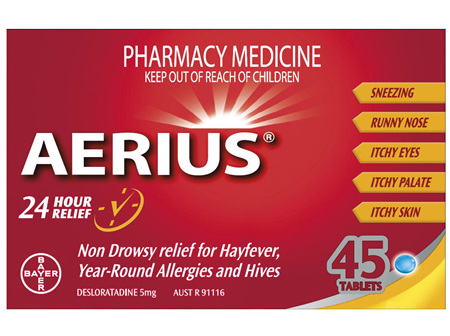 Aerius 45 Tablets