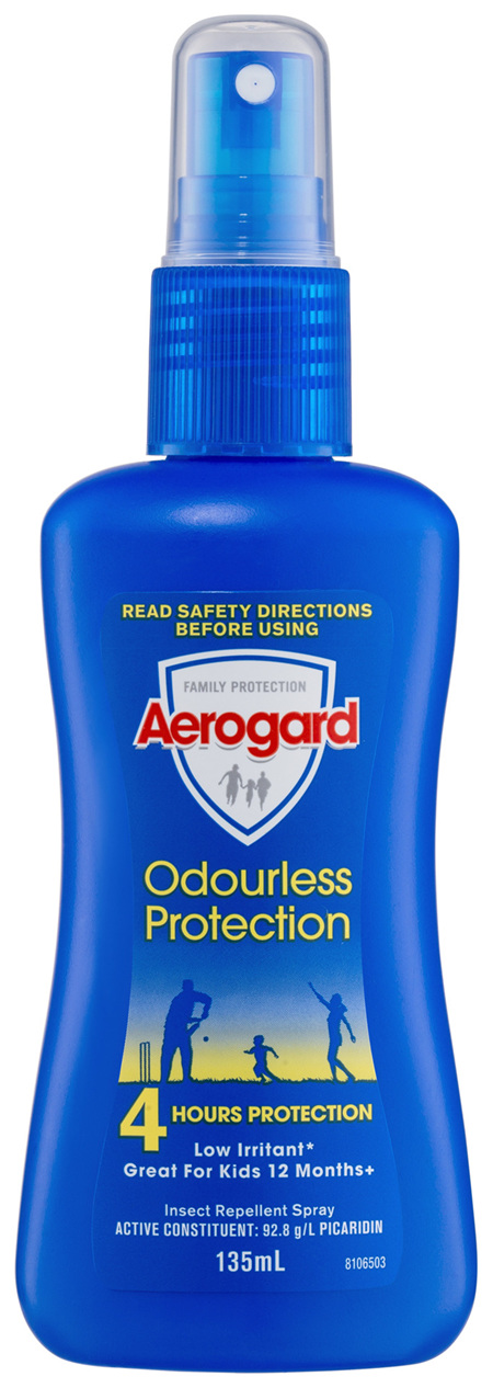 Aerogard Odourless Protection Insect Repellent Pump Spray 135ml