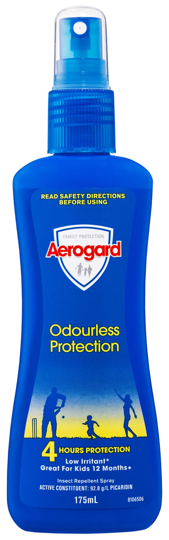 Aerogard Odourless Protection Insect Repellent Pump 175ml