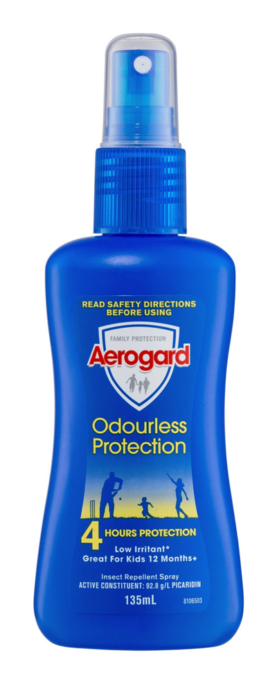 Aerogard Odourless Protection Insect Repellent Pump 135ml