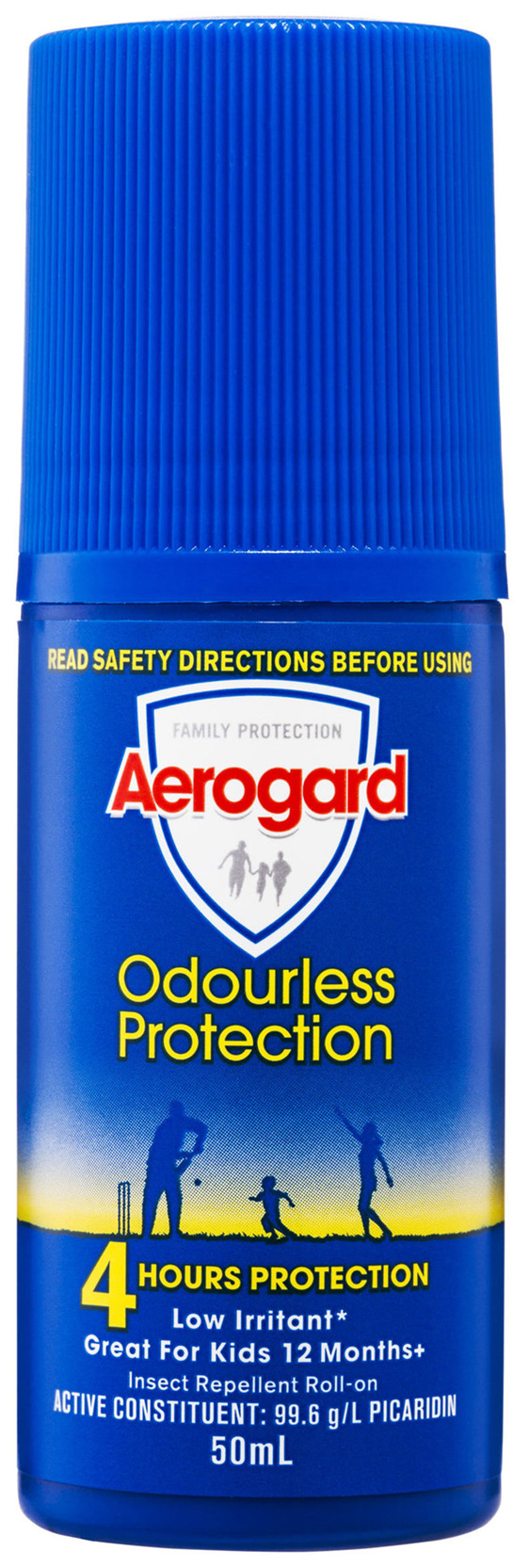 Aerogard Odourless Protection Insect Repellent Roll On 50ml